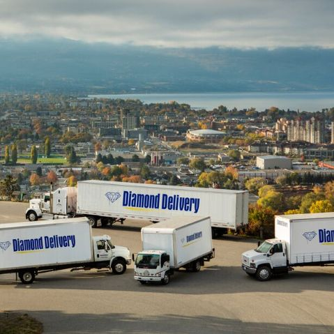 diamond delivery trucks