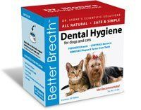 Better Breath, a safe, natural & simple way to keep your pet's teeth healthy