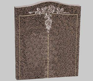 carved book style memorial