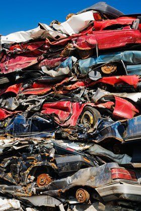 Scrap metals - Bridgegate, Glasgow - Clyde Metals Salvage Division Ltd - Car recycling