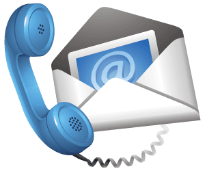 phone and message icon