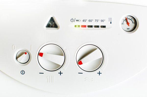 hot water heater settings