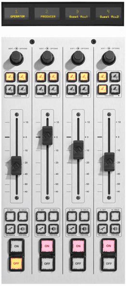 ifb Audio Server With Aes And Analog Flight Tracker Streambox Ifb