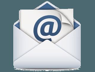 invia una mail