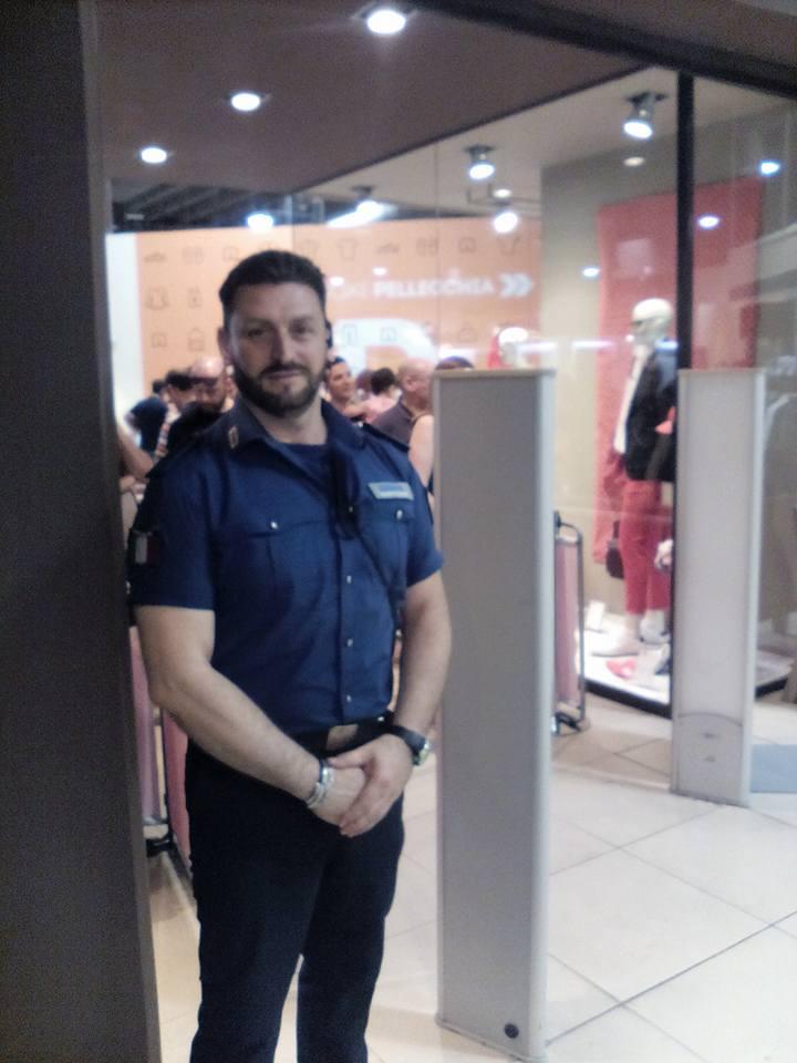 one man of the team Arrow Security