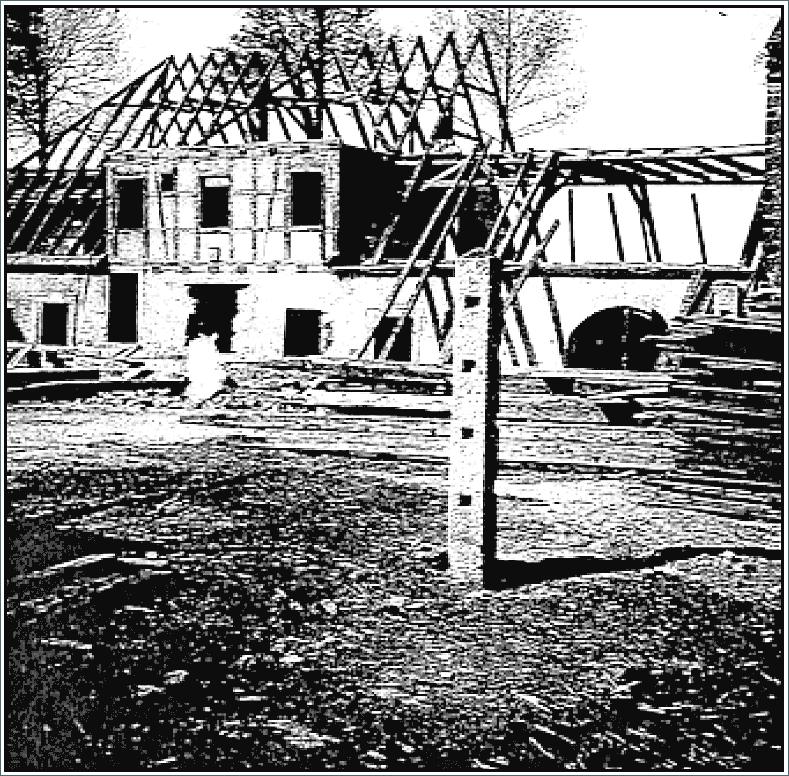 Abb. 8 Der Abbau der Försterei (1946) im Ergebnis der fingierten Hausnummeränderung © Sammlung Bayerlein