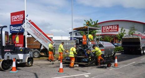 Construction equipment hire