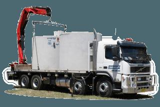 water treatment truck