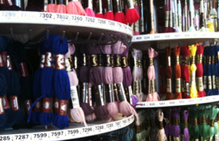 Colourful threads for sale