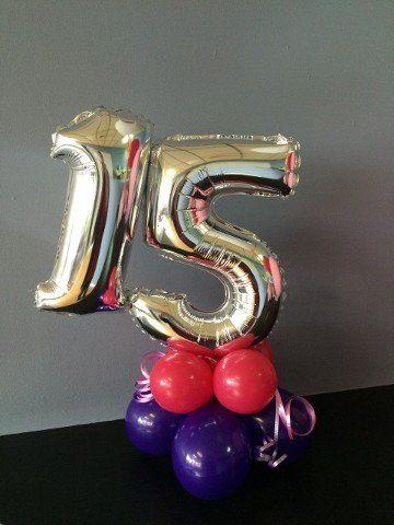 Age 15 Balloons 21 Birthday