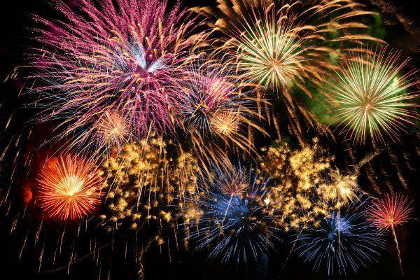 dei fuochi d'artificio