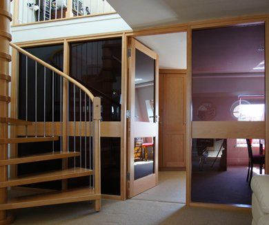 Staircase and windows and doors made by AR Manley