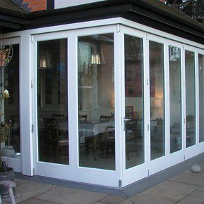 White conservatory completed