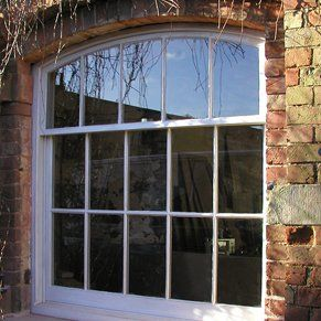 Large wooden window fitted by AR Manley