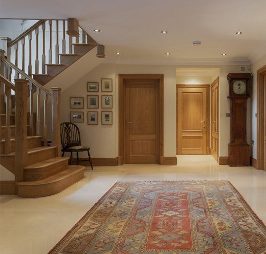 Wooden doors and staircases by AR Manley