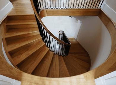 Spiral staircase made by AR Manley