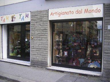 negozio di artigianato dal mondo
