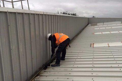 Professional cladding installation