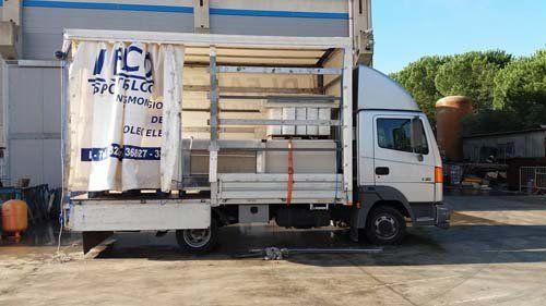 Camion per il trasporto a Ragusa