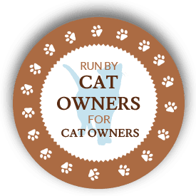 RUN BY CAT OWNERS FOR CAT OWNERS