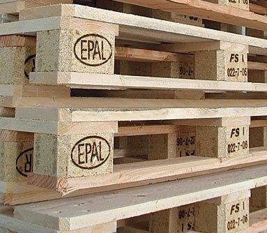 vendita di pallets in legno usat