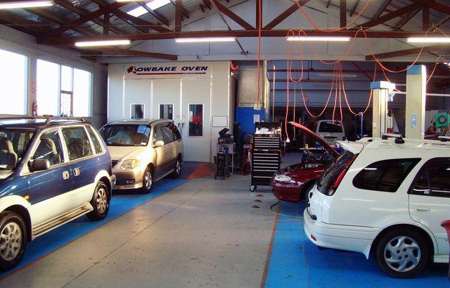 car body shop