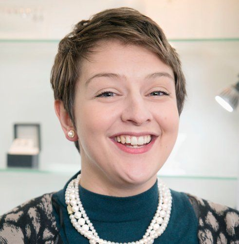 Sharon Pope, jeweller and engraver