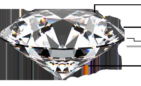 A large blue diamond