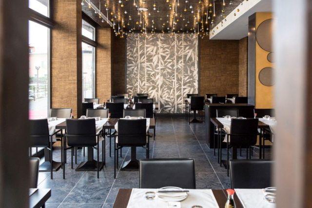 Interno ristorante giapponese Il Paradiso Del Sushi a Pavia