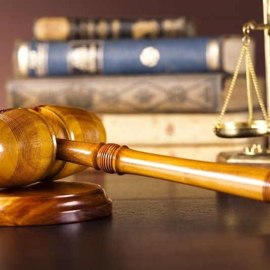 Gavel as a symbol for legal services