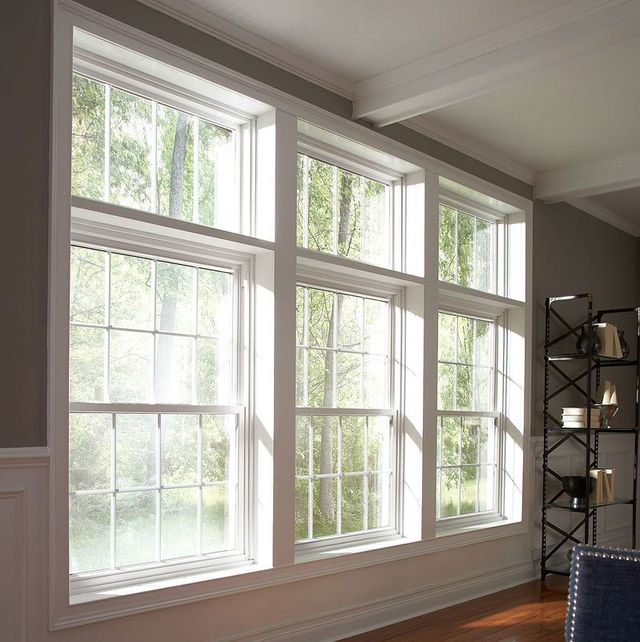 Double hung window installation in Fort Smith and Springdale AR