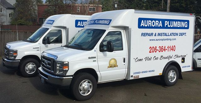 Aurora Plumbing Seattle Repair Truck