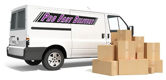 profast delivery van