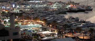 Dubai Boat Show:ボート、ヨット関連の展示会