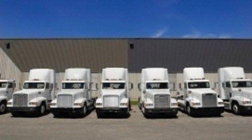 Flotta di camion  della compagnia