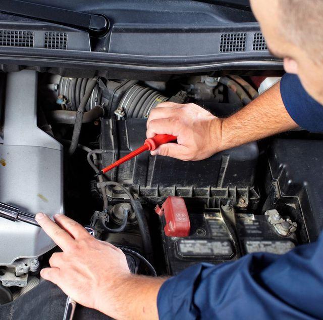 Mechanic working at Autolab Enterprises