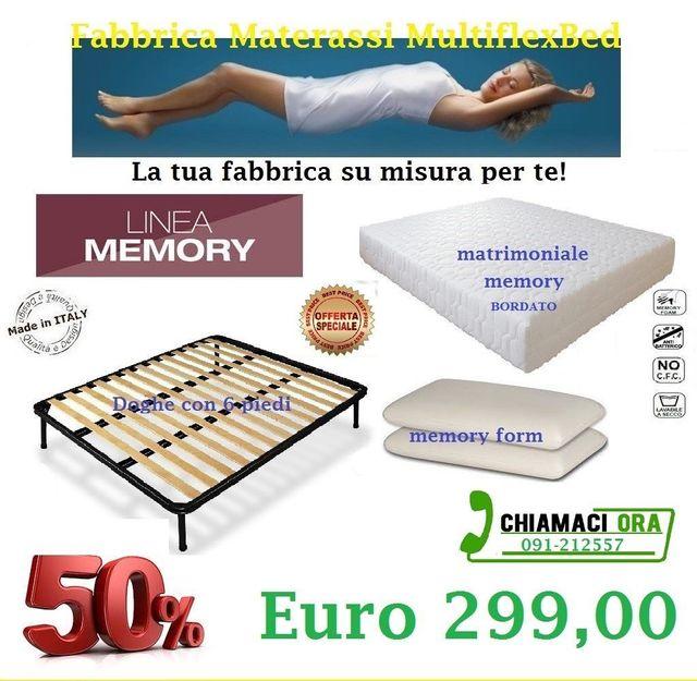 Fabbrica Materassi In Lattice.Materassi Memory Palermo Multiflexbed Materassi