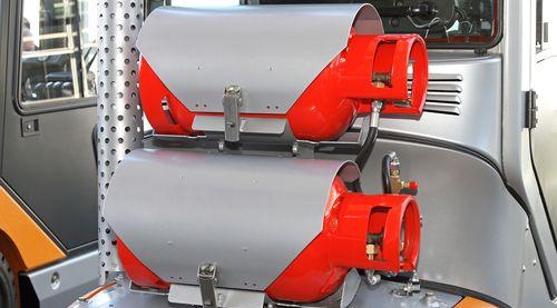 Fork Lift Cylinder Exchange