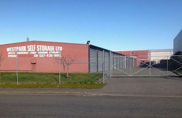 Westpark Self Storage in Christchurch