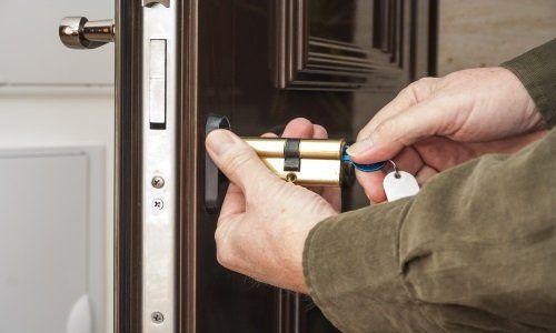 Montando una serratura