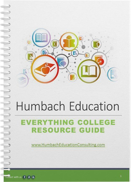 Humbach Education Consulting Everything College Resource Guide