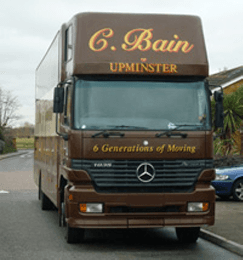 Removal Contactors - Havering - C Bain of Upminster - Removal Van