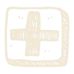Icon of health symbol