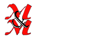 M & M Kitchens & Joinery Logo white text