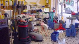 noleggio sistemi di pulizia