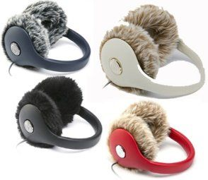 InnoHUG colors with faux fur muffs