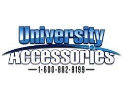 University Accessories logo and link