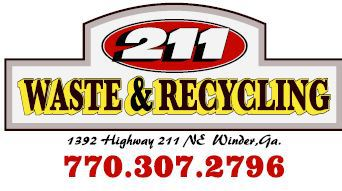 man with garbage truck performing recycling services in Winder, GA
