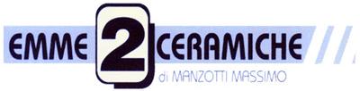 EMME 2 CERAMICHE di MANZOTTI MASSIMO - LOGO