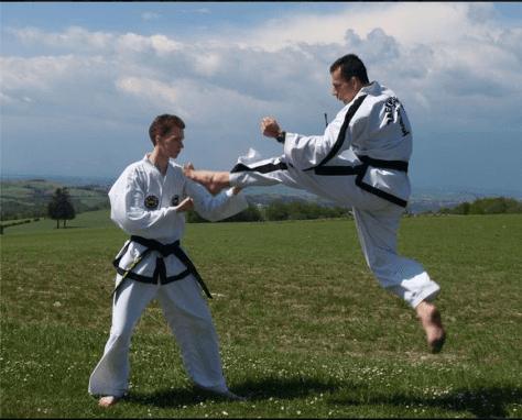 Taekwon-Do training